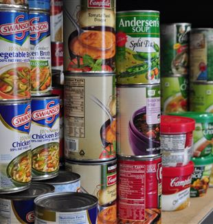 Canned food items. Via Flickr