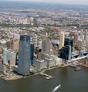 Jersey City, NJ. Wikimedia Commons