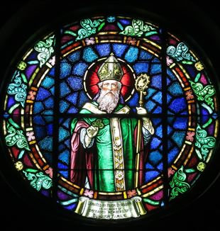 Saint Patrick. Wikimedia Commons