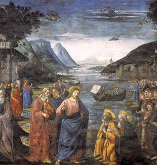 'Calling of the Apostles' by Domenico Ghirlandaio via Wikimedia Commons