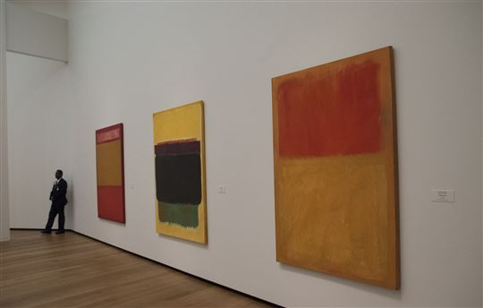 Mark Rothko at the National Gallery of Art (DC). Photo by Ron Cogswell via Flickr