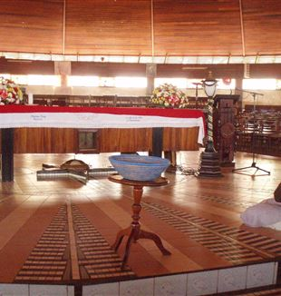 Namugongo Martyrs' Shrine. Wikimedia Commons