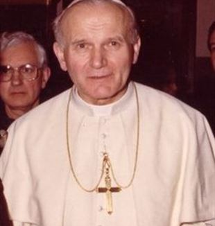 Pope John Paul II. Wikimedia Commons