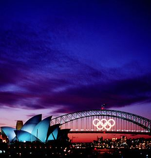 Final sunset over the 2000 Olympic Games in Sydney, Australia. Flickr
