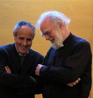Julián Carrón and Rowan Williams