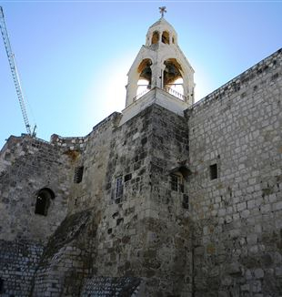 Church of the Nativity the Birthplace of Jesus. Bethlehem, Palestine. Wikimedia Commons
