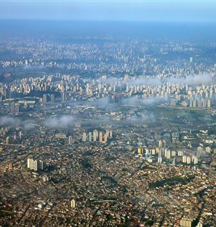 Aerial Photo of Sao Paulo, Brazil. Wikimedia Commons