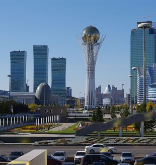 Central Downtown Astana, Kazakhstan. Flickr