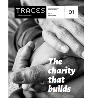 "The cover of the January 2019 issue of ""Traces."""
