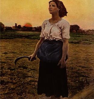 """Song of the Lark"" by Jules Breton. Via Wikimedia Commons"