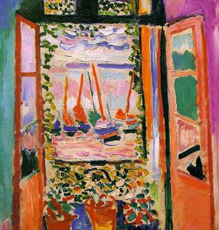 """Open Window, Collioure"" by Henri Matisse. By Irina via Flickr."