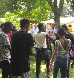The holiday with the Ugandan university students