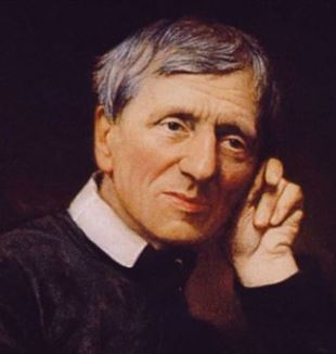 John Henry Newman. Photo from The Oxford Oratory.