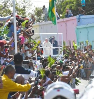 Pope Francis in Port Louis