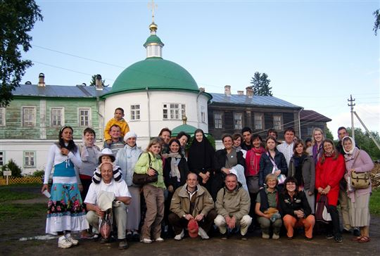 Visit to an orthodox monastery, during a holiday of the CL community from Moscow