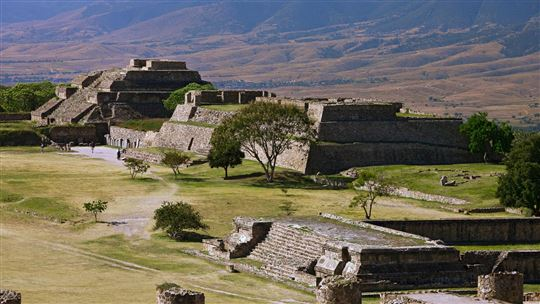 Ruins of the Zapotec civilization
