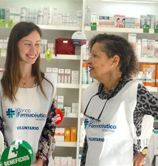The day of collection of the Pharmaceutical Bank in Argentina