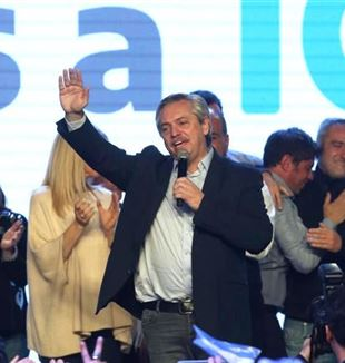 The newly elected Argentine President, Alberto Fernández