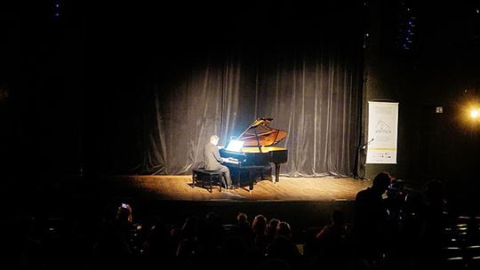 The concert by Marcelo Cesena (Photo by Rodrigo Canellas)