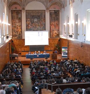 "The conference ""Allowing the human to grow: today's educational need"" at the Catholic University in Milan"