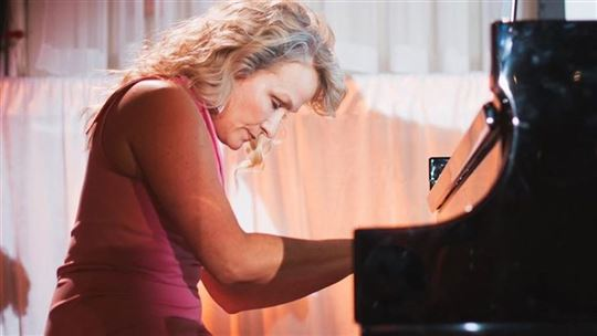 Pianist Molly Morkoski
