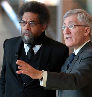 Cornel West and Robert George