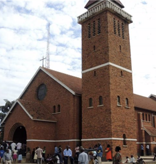 The cathedral of Saint Peter in Kampala