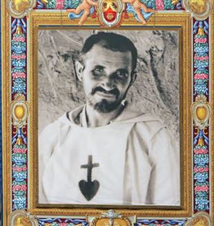 The image of Charles de Foucauld at his Beatification in 2005 (Photo: Alessia Giuliani/CPP/CIRIC)